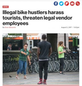 illegal central park bike hustlers defeated by mark derho bike rent nyc